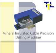 Mineral Insulated Cable Precision Drilling Machine