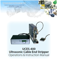 UCES-400 Ultrasonic Cable End Stripper